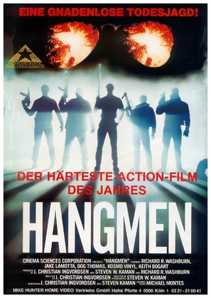 Hangmen - German Movie Poster (thumbnail)