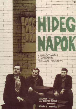 Hideg napok - Hungarian Movie Poster (thumbnail)