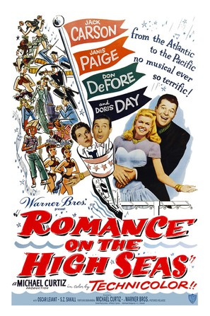 Romance on the High Seas - Movie Poster (thumbnail)