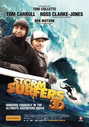 Storm Surfers 3D - Australian Movie Poster (thumbnail)