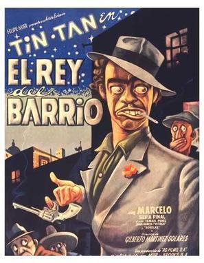 El rey del barrio - Mexican Movie Poster (thumbnail)