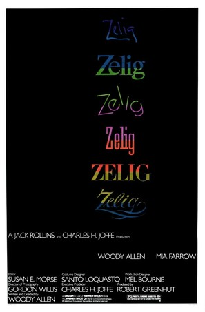 Zelig - Theatrical poster (thumbnail)