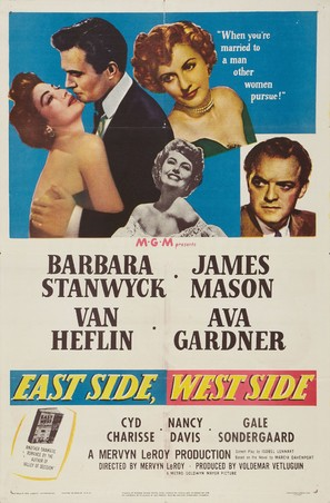 East Side, West Side - Movie Poster (thumbnail)