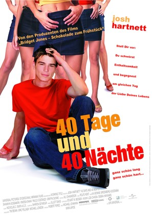 40 Days and 40 Nights - German Movie Poster (thumbnail)