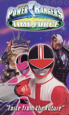 """Power Rangers Time Force"" - poster (thumbnail)"