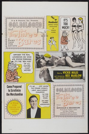 Goldilocks and the Three Bares - Movie Poster (thumbnail)