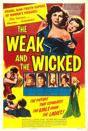 The Weak and the Wicked - Movie Poster (thumbnail)