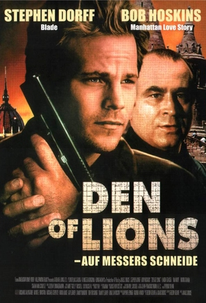 Den of Lions - German Movie Poster (thumbnail)