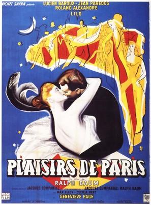 Plaisirs de Paris - French Movie Poster (thumbnail)