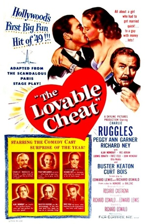 The Lovable Cheat - Movie Poster (thumbnail)