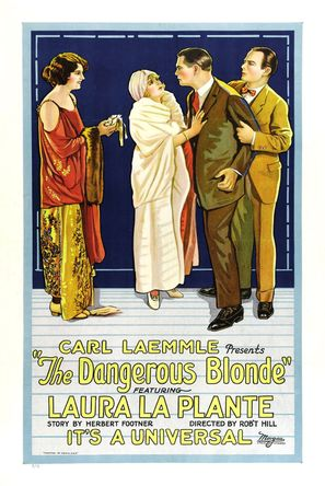 The Dangerous Blonde - Movie Poster (thumbnail)