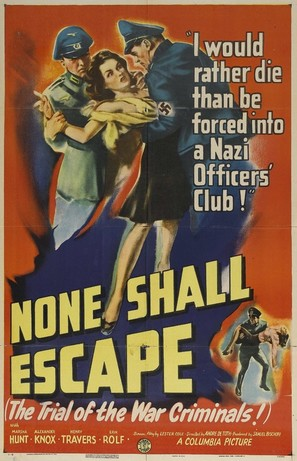 None Shall Escape - Movie Poster (thumbnail)