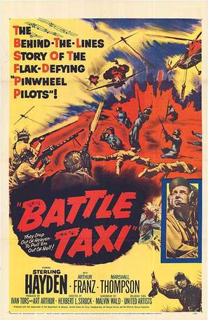 Battle Taxi - Movie Poster (thumbnail)