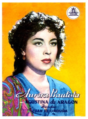 Agustina de Aragón - Spanish Movie Poster (thumbnail)