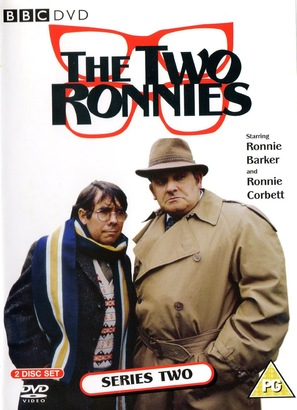 """The Two Ronnies"" - British DVD movie cover (thumbnail)"
