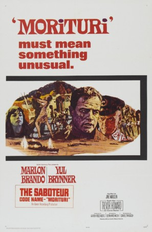 Morituri - Movie Poster (thumbnail)