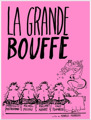La grande bouffe - French Movie Poster (thumbnail)