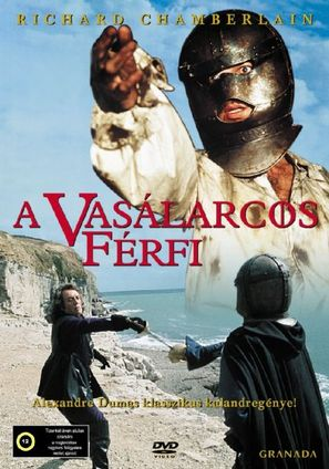The Man in the Iron Mask - Hungarian DVD movie cover (thumbnail)