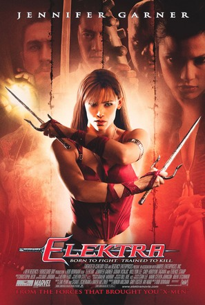 Elektra - Theatrical movie poster (thumbnail)