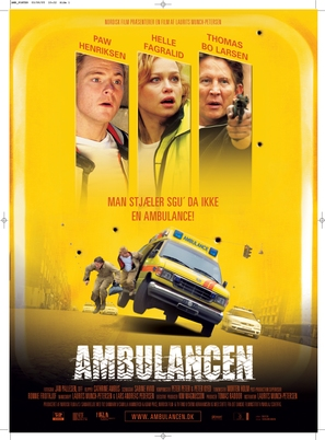 Ambulancen - Danish poster (thumbnail)