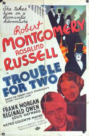 Trouble for Two - Movie Poster (thumbnail)