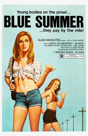 Blue Summer - Movie Poster (thumbnail)