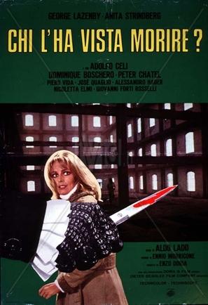 Chi l'ha vista morire? - Italian Movie Poster (thumbnail)