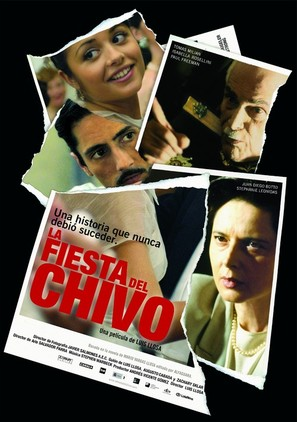 La fiesta del chivo - Spanish Movie Poster (thumbnail)