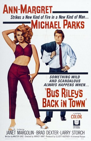 Bus Riley's Back in Town - Movie Poster (thumbnail)