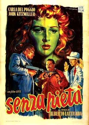 Senza pietà - Italian Movie Poster (thumbnail)