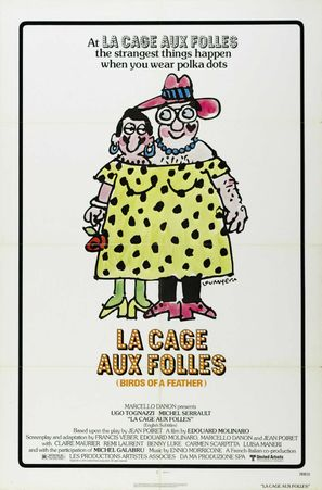 Cage aux folles, La - Movie Poster (thumbnail)