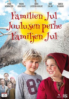 Familien Jul - Danish Movie Cover (thumbnail)