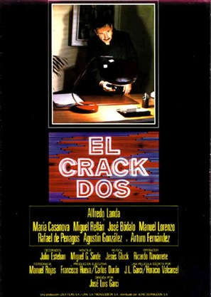 Crack II, El - Spanish Movie Poster (thumbnail)