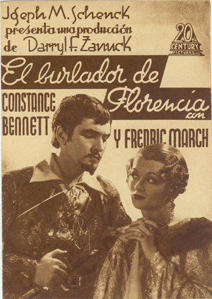 The Affairs of Cellini - Spanish Movie Poster (thumbnail)