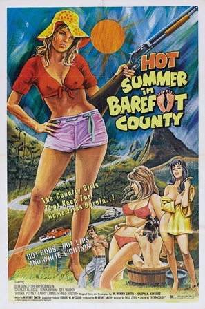 Hot Summer in Barefoot County - Movie Poster (thumbnail)