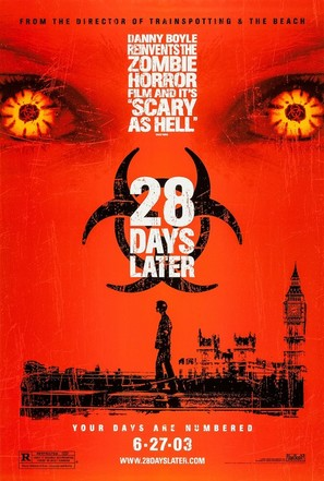 28 Days Later... - Advance movie poster (thumbnail)