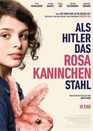 Als Hitler das rosa Kaninchen stahl - German Movie Poster (thumbnail)