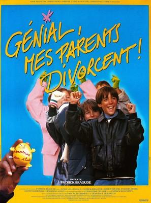 Génial, mes parents divorcent! - French Movie Poster (thumbnail)