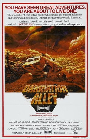 Damnation Alley - Teaser poster (thumbnail)