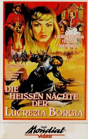 Lucrezia giovane - German VHS movie cover (thumbnail)