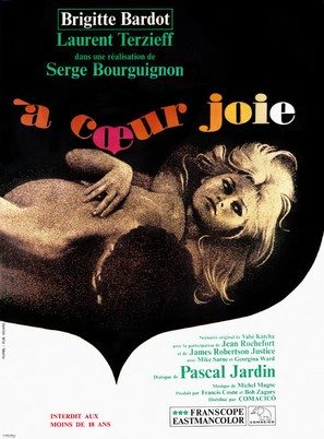 À coeur joie - French Movie Poster (thumbnail)