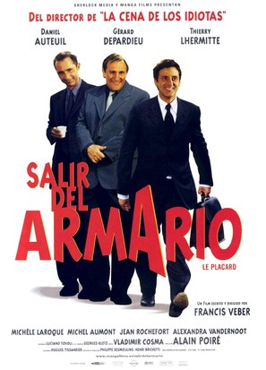 Le placard - Spanish Movie Poster (thumbnail)