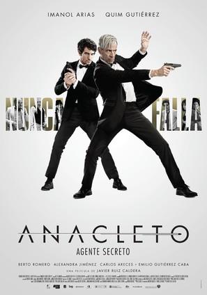 Anacleto: Agente secreto - Spanish Movie Poster (thumbnail)