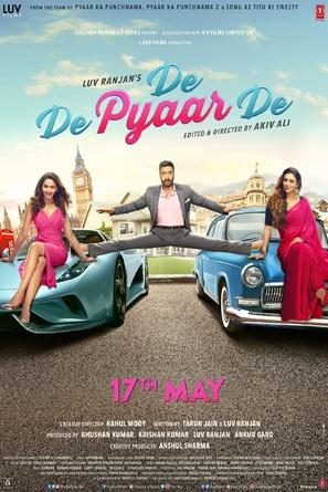 De De Pyaar De - Indian Movie Poster (thumbnail)