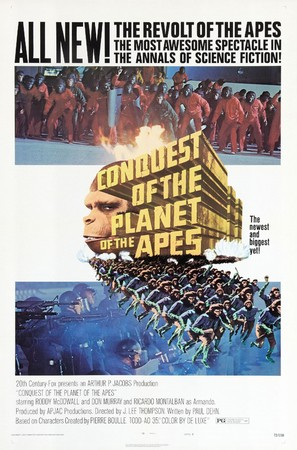 Conquest of the Planet of the Apes - Movie Poster (thumbnail)
