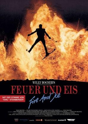 Feuer, Eis & Dynamit - German Movie Poster (thumbnail)