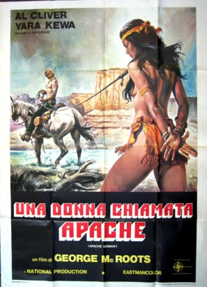 Una donna chiamata Apache - Italian Movie Poster (thumbnail)
