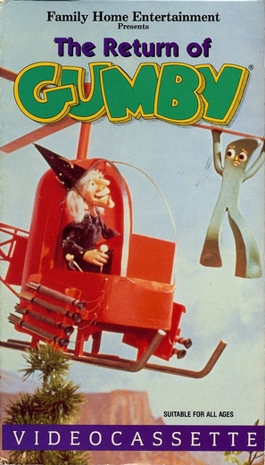 """The Gumby Show"" - VHS movie cover (thumbnail)"