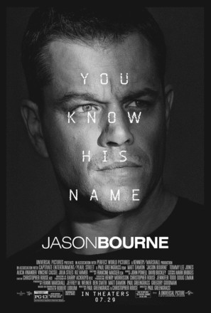 Jason Bourne - Movie Poster (thumbnail)