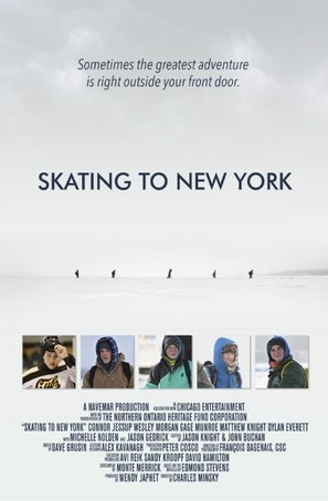 Skating to New York - Movie Poster (thumbnail)